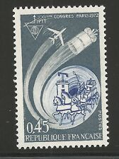 France Scott #1347, Single 1972 Complete Set FVF MNH