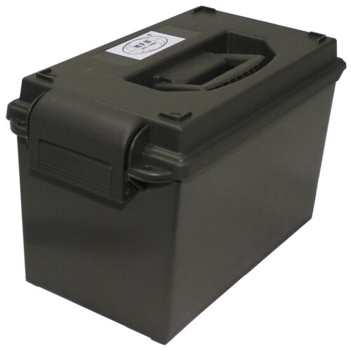 US Munitionskiste Kunststoff Cal Army Ammo Box Munikiste Aufbewahrungskiste 50