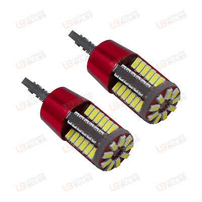 2x Jaguar S-Type Bright Xenon White 8SMD LED Canbus Number Plate Light Bulbs
