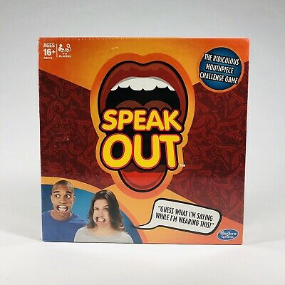 Speak Out Game Board Party Game Speak Up Mouth Piece Challenge Game