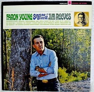 Faron young sings the best of jim reeves orig rare red lbl stereo