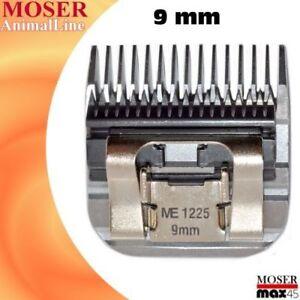 Tête de rasoir de 9 mm Moser 1250 1245 1225 1248 Tête de coupe Tête de coupe Max50 / 45
