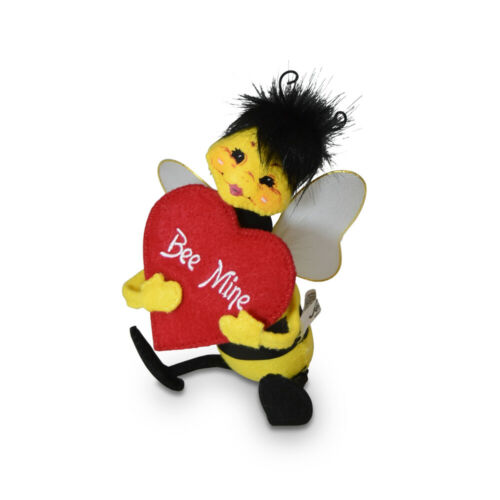 Annalee Dolls 2020 Valentine 5in Bumblebee Mine Plush New with Tags