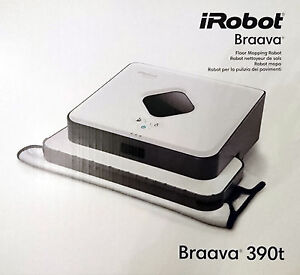 irobot braava jet 390t boden wischroboter nass trocken. Black Bedroom Furniture Sets. Home Design Ideas