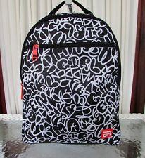 item 3 Madden Girl Backpack Laptop Entry Graffiti Black White School Travel  Bag NWT -Madden Girl Backpack Laptop Entry Graffiti Black White School  Travel ... 45c1fd46d7819