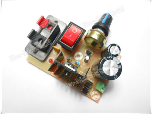 AC// DC 5V-35V to DC 1.3-30V LM317 Voltage Step-down Power Supply DIY Kit Module