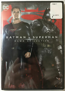 Batman-V-Superman-Dawn-of-Justice-nuevo-Sellado-Dvd-Ver-Fotos-2016