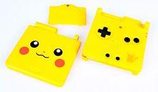 Gameboy Advance SP GBA Pikachu Cover Pokemon Gehäuse Limited Edition Case Neu