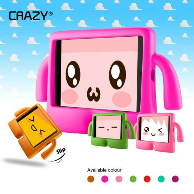Kids Heavy Duty Stand Shockproof Case Cover For IPad Mini Air Pro 1 2 3 4 5 6