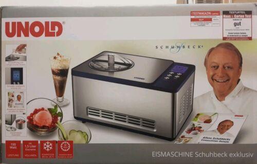 exklusiv mit Kompressor ☆SONDERANGEBOT☆ Unold 48818 Eismaschine-Schuhbeck