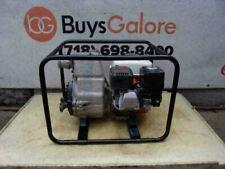 Tsurumi Trash Water Pump 2 Inch Honda Motor Works Great 1
