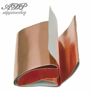 Cuivre-Auto-Adhesif-Blindage-Cavite-Pickguards-Conductive-Copper-Shield-Tape