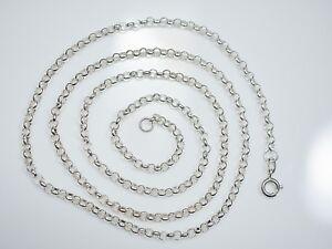 Tolle-835-Silber-Kette-Signiert-HK-Modern-Elegant-Unisex-Damen-Herren-Edel