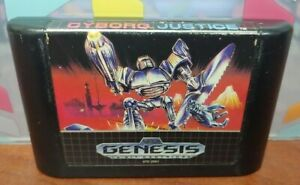 Cyborg-Justice-Sega-Genesis-Rare-Game-Tested-Works-Authentic-Original