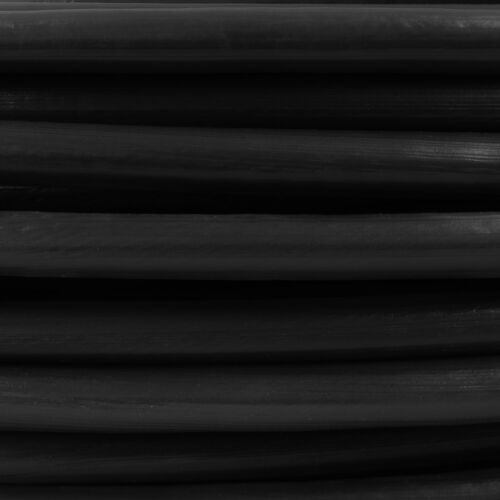 BLACK PVC coated galvanized steel CABLE stranded metal wire rope plastic covered