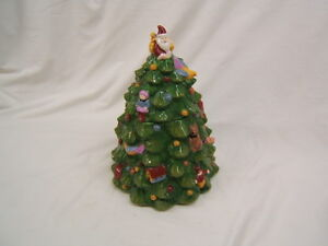 Spode Christmas Tree Cookie Jar c 1938 S3324-A8 VGC | eBay