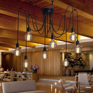 Moderne Deckenleuchten Küche LED Kronleuchter Beleuchtung Schwarz ...