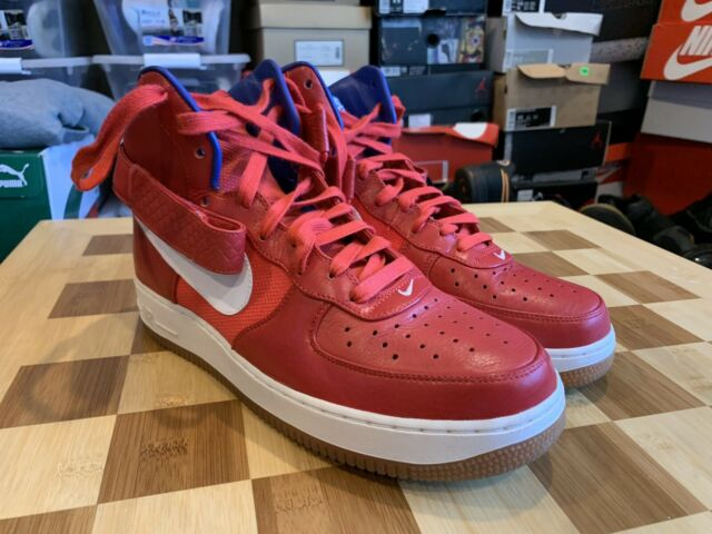 Nike Air Force 1 Hi Hyperfuse Solar Red | Sneakers nike
