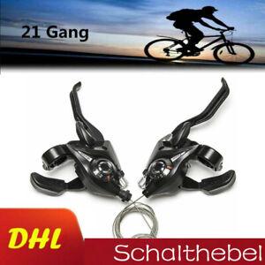 Shimano MTB Fahrradbremshebel 3x7 3x8 21,24Geschwindigkeitssatz ST-EF51 ZAHNRAD