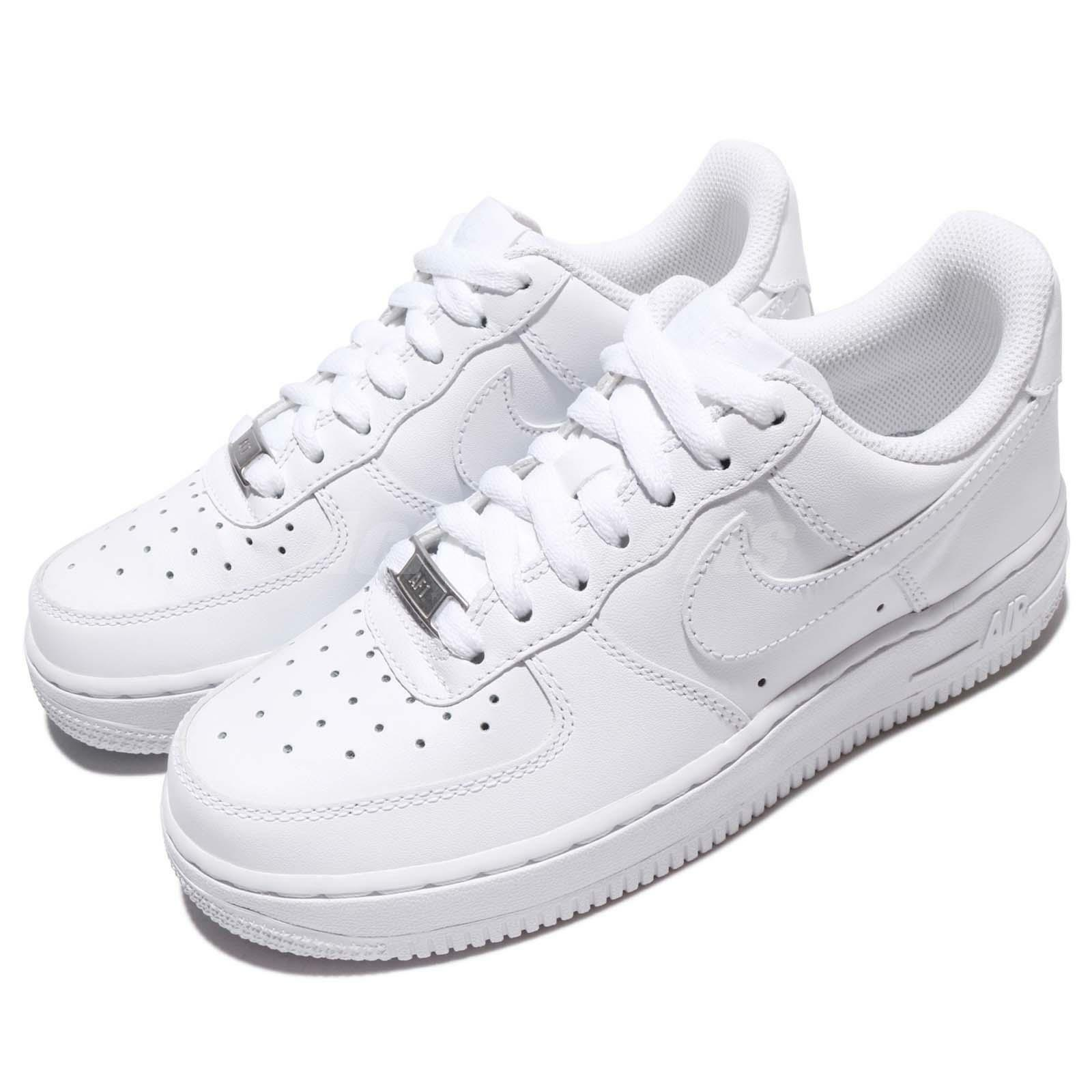 Wmns Nike Air Force 1 07 Zapatos Tenis blancoout blancoout blancoout para mujeres Clásico AF1 315115-112  excelentes precios