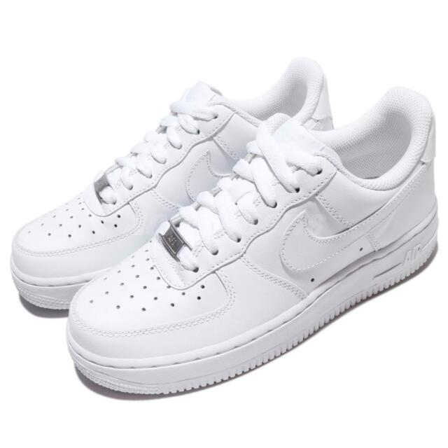 Wmns Nike Air Force 1 07 Whiteout Womens Classic Shoes AF1 Sneakers 315115 112