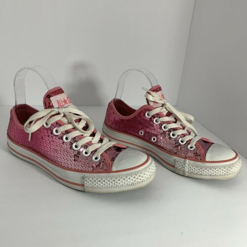 Converse All Star Chuck Taylor Pink Sequin Sparkly