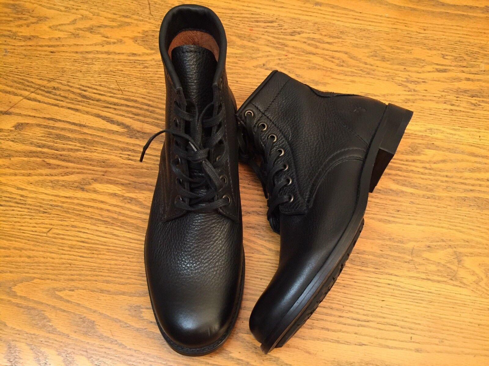 Frye Tyler mujer botas acordonadas al Tobillo De Cuero Cuero Cuero Talla 7 Nuevo  todos los bienes son especiales