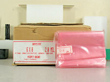 One Hundred Baystat 45bp2 0608 6x8 Anti Static Lay Flat Poly Bags Pink 2 Mil