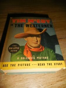 1936-Tim-McCoy-in-The-Westerner-BLB-Big-Little-Book-1193-VF-File-Copy