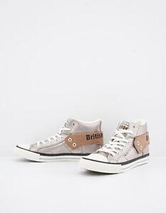 British-Knights-Hi-Top-Damen-Schuhe-Bronze-Sneakers-Freizeitschuhe-Woman-Shoes