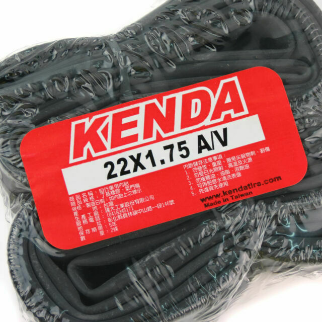 x2 KENDA 22x1.75 A//V Schrader Valve Bike Bicycle Cycling Inner Tyres Tubes Tires