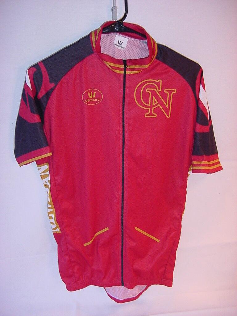 Vermarc Cycling Jersey - Cardinal Newman High School Santa pink Ca Size XL-5-52
