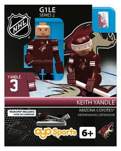 KEITH YANDLE ARIZONA COYOTES OYO MINIFIGURE BRAND NEW FREE SHIPPING
