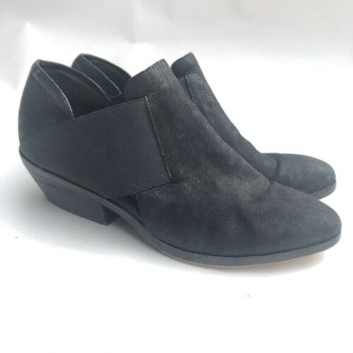Eileen Fisher Size 7 Perry Tumbled Nubuck Bootie B