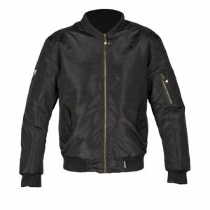 SPADA-AIRFORCE-1-CE-APPROVED-BLACK-MOTORCYCLE-MOTORBIKE-SCOOTER-JACKET