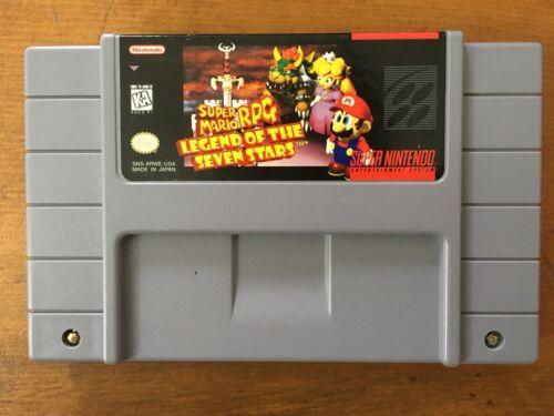 1 of 1 - Super Mario RPG: Legend of the Seven Stars (Super Nintendo Entertainment System,