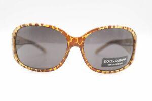 Dolce-amp-Gabbana-DG-641S-792-60-15-Braun-Oval-Sunglasses-New
