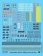 [FFSMC Productions] Decals 1/72 Puma (SA330 / AS332) Puma AdA (Armée de l'Air)