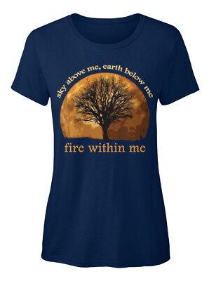 Obligatorisch Sky Above Me, Earth Below Wiccan Standard Women's T-shirt Um Sowohl Die QualitäT Der ZäHigkeit Als Auch Der HäRte Zu Haben