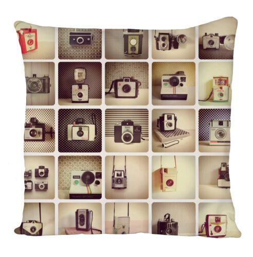 Appareil photo All Over Housse de coussin taie d/'oreiller Fashion Cadeau Idéal Cadeau D/'Anniversaire