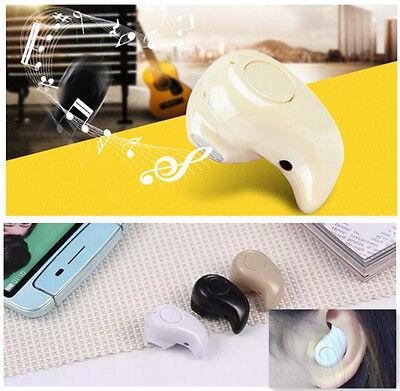 New Smallest Cool Bluetooth Earplug Mini Headphone Earbud Eearphone Portable Mo