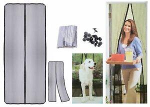 insektenschutz magnet t rvorhang fliegengitter fliegennetz fliegenschutz vorhang ebay. Black Bedroom Furniture Sets. Home Design Ideas