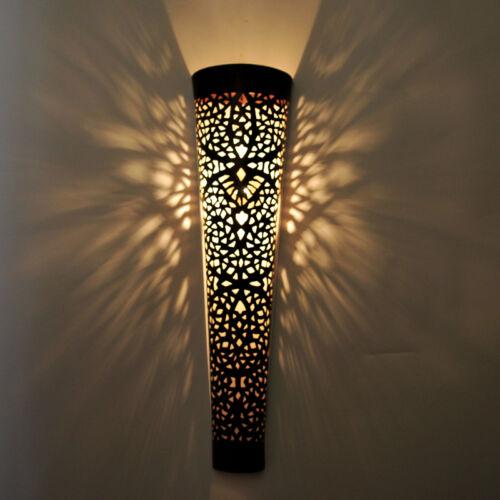 XL Orientalische wandlampe Lampe Marokkanische Wandleuchte EISEN TOLA H70cm