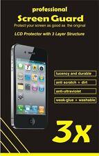 3 x Professionale Pellicola protettiva Motorola RAZR I XT890