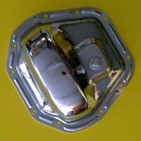 Dana 60 10 Bolt Chrome Rear End Differetial Cover With Plug