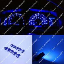 10x Blue 194 T10 LED Gauge instrument Panel Dashboard Speed Light W5W 147 Bulbs