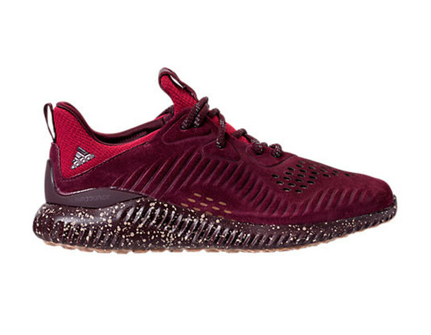 Adidas Men's ALPHA BOUNCE LEA Shoes Maroon CQ1189 b Seasonal clearance sale