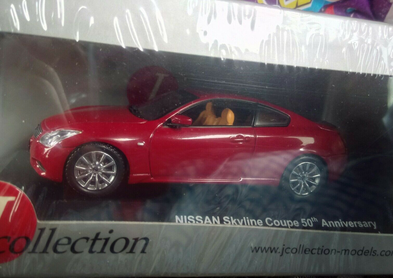 Kyosho JCollection Nissan Skyline coupe 2007 50th anniversary 1 43 43 43 scale MIB deab80