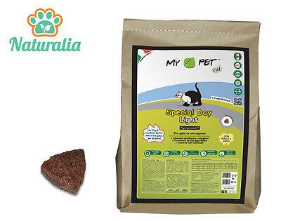 Espressive Crocchette Naturali Al Pollo Per Gatti In Sovrappeso My Pet Light 2 Kg