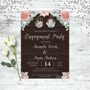 ENGAGEMENT-INVITATION-RUSTIC-WOOD-FLORAL-WEDDING-INVITE-PARTY-INVITATIONS